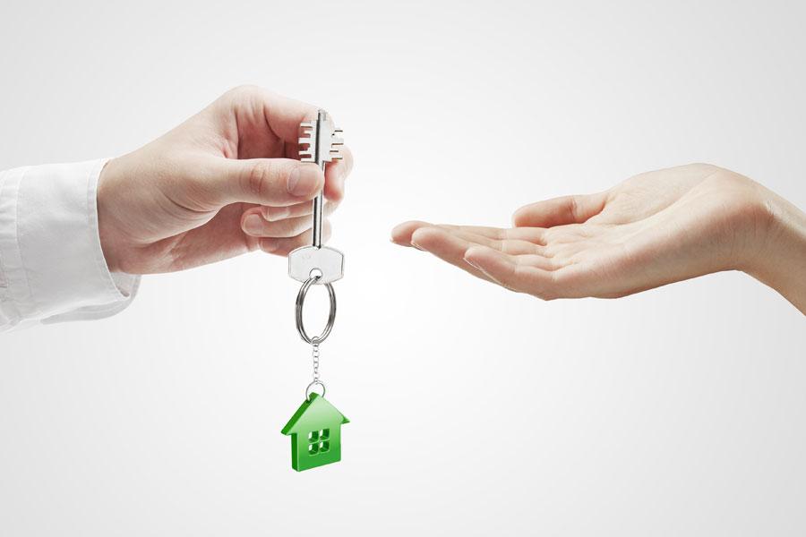 Eigentumswohnung Vermietung Schlüssel