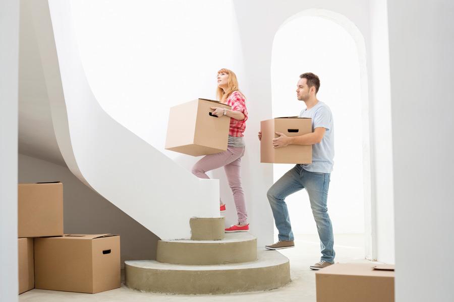 Weg zur Eigentumswohnung