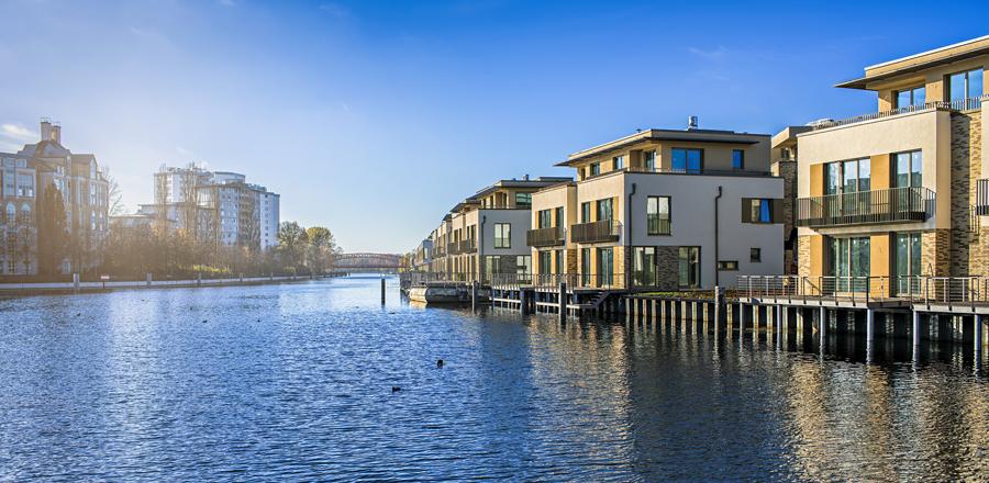 Wohnen am Tegeler Hafen © Karl-Heinz Spremberg / Fotolia.de
