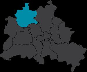 Karte Berlin-Reinickendorf