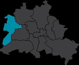 Karte Berlin-Spandau