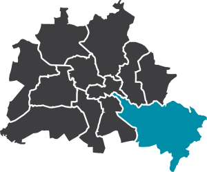 Karte Berlin-Treptow Köpenick